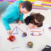 People colouring © Tate