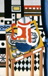Leger's painting Still Life with a Beer Mug