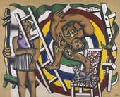 Fernand Léger, The Acrobat and his Partner 1948