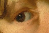 Fig.10 Detail of the boy's right eye