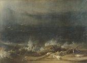 Fig.10  Washington Allston (Joshua Shaw), The Deluge c.1813