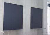 Fig.11 Installation view of the exhibition Ad Reinhardt, Institute of Contemporary Arts, London 1964