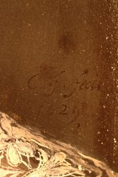 Fig.13 Signature and date, lower right corner