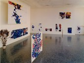 Fig.14 Installation view of the Sam Francis retrospective at the Museum of Fine Arts, Houston, 1967