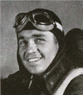 Fig.15 Sam Francis as an aviation cadet in the Morton Air Academy yearbook, autumn 1943
