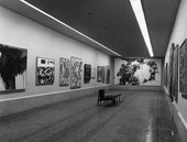 Fig.15 Installation view of the Mexico Biennial, Mexico City, 1958