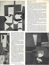 Fig.16 Anthony Hill's contribution to Broadsheet No.1: Devoted to Abstract Art, London 1951
