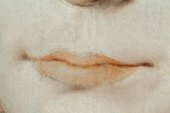 Fig.17 Detail of the sitter's mouth