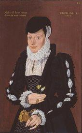 British School, 16th century, Portrait of a Lady 1567