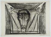 Fig.1 Bernard Buffet, Holy Face 1953