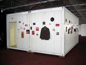 Installation view of Mladen Stilinović's Exploitation of the Dead 1984–90 at Documenta 12, Kassel, 2007