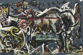 Jackson Pollock, The She-Wolf 1943, Museum of Modern Art, New York