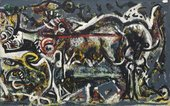 Fig.1 Jackson Pollock, The She-Wolf 1943