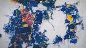 Fig.1 Sam Francis, Around the Blues 1957, 1962–3