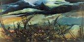 Fig.1 Ben Enwonwu, Storm Over Biafra 1972