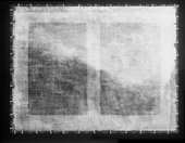 Fig.2 X-radiograph of Mountain Landscape with Dancing Shepherd