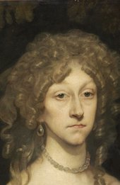 Detail of the head of Peter Borseller, Portrait of a Lady