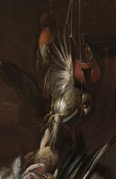 Fig.2 Detail of the hanging bird in Still Life