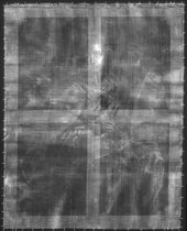 Fig.2 X-radiograph of Elizabeth Panton, later Lady Arundell of Wardour, as Saint Catherine 1689