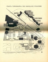 Fig.2 Map of the 1948 Venice Biennale