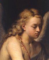 Fig.2 Detail of Elijah's face