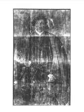 X-radiograph of Portrait of a Gentleman, probably of the West Family 1545-60