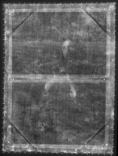 Fig.2 X-radiograph of Man Playing a Pipe c.1648