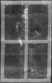 Fig.2 X-radiograph of Portrait of James Hamilton, Earl of Arran, Later 3rd Marquis and 1st Duke of Hamilton, Aged 17 1623