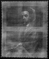 X-radiograph of John Smith the Engraver 1696