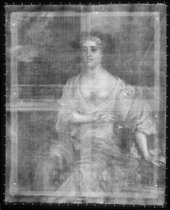Fig.2 X-radiograph of Portrait of an Unknown Woman