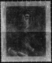 Fig.2 X-radiograph of A Lady of the Horton Family