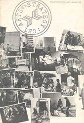 Fig.2 Cover of Strategy: Get Arts, exhibition catalogue, Edinburgh College of Art, 23 August – 12 September 1970