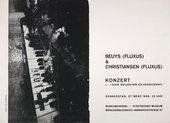 Fig.2 Invitation to ...or should we change it? (...oder sollen wir es verändern?) by Joseph Beuys and Henning Christiansen, Städtisches Museum Mönchengladbach, 27 March 1969