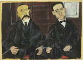 Fig.2 Ben Shahn, Bartolomeo Vanzetti and Nicola Sacco 1931–2