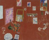 Fig.32 Henri Matisse, The Red Studio 1911