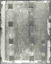 Fig.3 The back of the panel, photographed in black-and-white