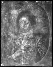 Fig.3 X-radiograph of Lady Anne Pope c.1615