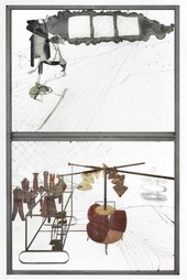 Fig.3 Marcel Duchamp, The Bride Stripped Bare by Her Bachelors, Even (The Large Glass) 1915–23