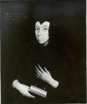 Fig.4 Infra-red reflectogram of A Lady of the Horton Family