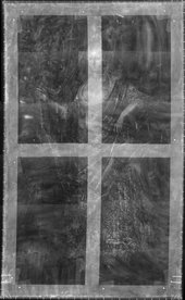Fig.4 X-radiograph of Portrait of a Lady, Called Elizabeth, Lady Tanfield 1615