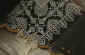 Fig.4 Detail of the lace collar, gorget and jerkin