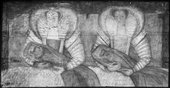Fig.4 X-radiograph of The Cholmondeley Ladies