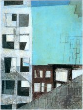 Fig.4 Lyonel Feininger, Factory Windows in Manhattan 1949
