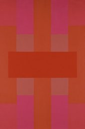 Fig.4 Ad Reinhardt, Red Abstract 1952