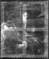 Fig.5 X-radiograph of Portrait of an Unknown Man c.1660