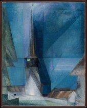 Fig.5 Lyonel Feininger, Gelmeroda 1936