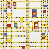 Fig.6 Piet Mondrian Broadway, Boogie Woogie 1942–3