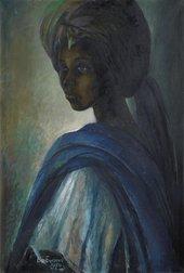 Fig.5 Ben Enwonwu, Tutu 1974