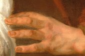Fig.6 Detail of the hand of one of the Elders