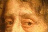 Fig.6 Detail of the sitter's eyes